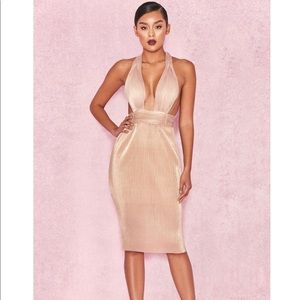 2d6020a6172 house of cb Dresses | Bronze Backless Micro Sequin Mini Dress | Poshmark